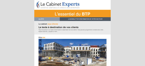Newsletter sectorielle - BTP